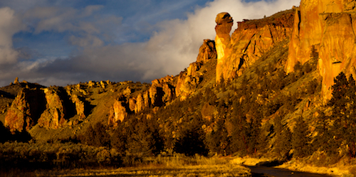 Monkey Face in Smith Rock State Park in Central Oregon