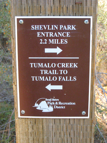 Follow the park sign towards the Shevlin park entrance.