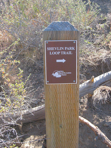 Shevlin park sign