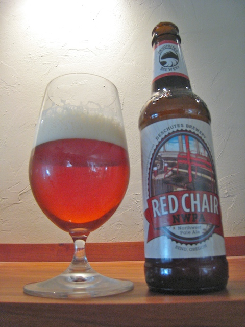 Red Chair Northwest Pale Ale by Bend, Oregon's Deschutes Brewery