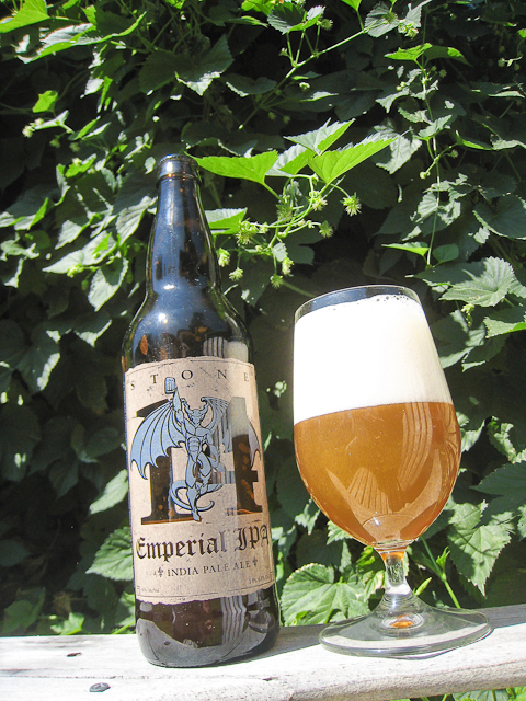 Stone Brewing 14th anniversary Emperial IPA