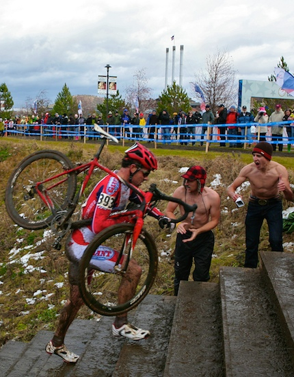 Crazed Cyclocross fans!
