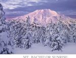 Beautiful New Mt. Bachelor poster.